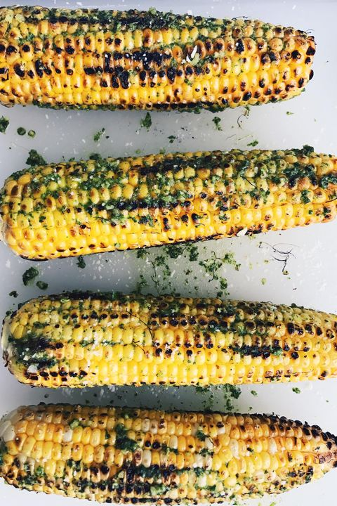 chile lime grilled corn   labor day recipes