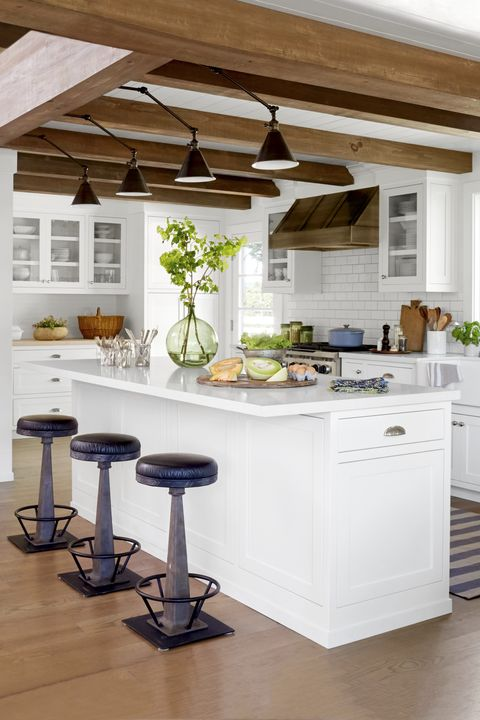 Countertop, Furniture, Kitchen, Room, Bar stool, Property, Interior design, Table, Cabinetry, Home,