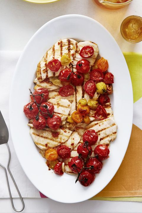 Roasted Tomato Chicken  - Grilled Chicken Recipes